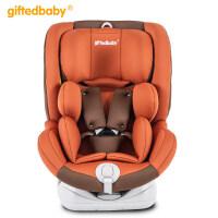 儿童安全座椅汽车用0-12岁婴儿宝宝360度4周旋转可躺isofix硬接口
