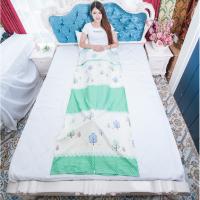 旅行便携纯棉卡通隔脏睡袋酒店宾馆隔离床单被罩双人单人薄款超轻