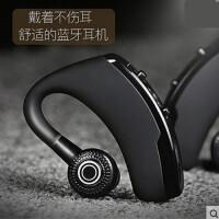 无线商务蓝牙耳机智能声控语音接听中文报号挂耳式车载通用SN1640 黑色