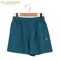 【1件3折价:89.4元】 eland kids 衣恋童装夏季新品女童短裤时尚沙滩裤