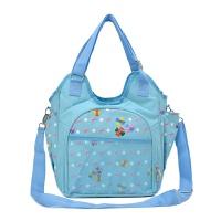 妈咪包外出手提帆布包多功能大容量婴儿外出孕妈母婴包单肩时尚