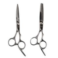 雷瓦(RIWA) 专业理发器工具平剪牙剪 不锈钢剪刀牙剪 RD-201 RD-202