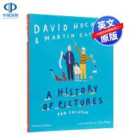 现货英文原版 A History of Pictures for Children 给孩子讲解名家名画的艺术历史 获奖艺