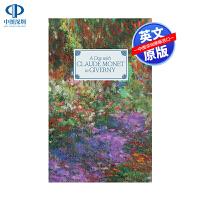 英文原版 克劳德・莫奈在吉维尼的一天 精装艺术书 A Day with Claude Monet in Giverny