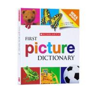 【现货】Scholastic First Picture Dictionary 学乐英语 幼儿图画字典 英英词典 学乐