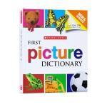 (100减20)精装Scholastic First Picture Dictionary 学乐儿童图画图解字典 英英