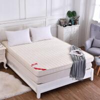 记忆棉床垫1.5m1.8m床褥子垫被双人学生1.2米加厚席梦思海绵垫子 米白色 10厘米