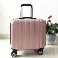定制18寸拉杆箱万向轮登机箱迷你小行李箱包女商务密码旅行箱