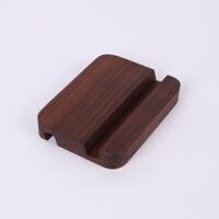 手机支架实木质懒人支撑架子办公桌面床头托创意平板电脑ipad底座