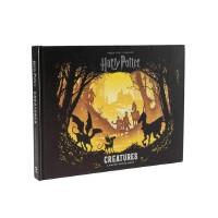 英文原版 哈利波特:魔法生物 3D立体纸雕书 剪纸艺术 Harry Potter: Creatures: A Pape