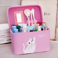 韩国化妆包大号小号简约可爱便携大容量防水手提旅行化妆品收纳盒