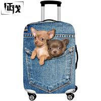 征伐 行李箱保护套 行李箱套加厚耐磨卡通旅行箱套拉杆箱皮箱套防尘罩