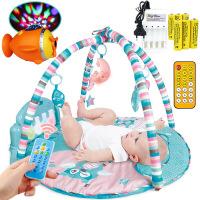 脚踏钢琴新生儿多功能带音乐婴儿健身架 儿童健身架玩具