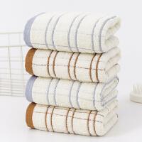 斜月三星 【2条装】流星雨毛巾纯棉毛巾 吸水全棉加厚面巾洗脸巾