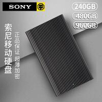 Sony 索尼240G 480G 960G固态移动硬盘SL-EG2 EG5 E1苹果MAC外置迷你高速Type-C手机