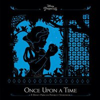 Once upon a Time: A Disney Princess Papercut Storybook 英文原版