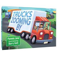 卡车轰隆隆Trucks Zooming by