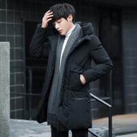 唐裳冬季棉衣男韩版中长款加厚潮流冬天衣服棉袄子男士棉服冬装男外套