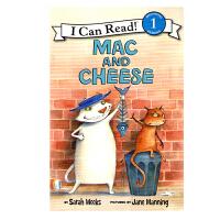 英文原版 Mac and Cheese 马克和起司 [平装] [4-8岁]