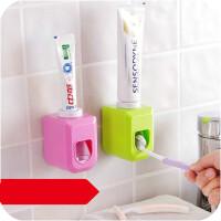 可爱懒人全自动挤牙膏器创意吸壁式牙膏收纳挤压
