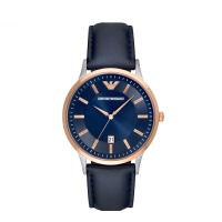 阿玛尼(Emporio Armani)手表 男表简约时尚质感男士手表AR2506