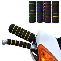 电动车摩托车 改装配件 海绵防滑把手套 牛角把套 通用型海绵手把套 鬼火改装配件
