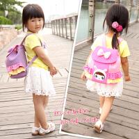 时尚可爱公主背包儿童书包女1-3-5岁幼儿园宝宝双肩包