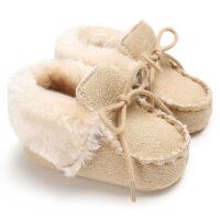 婴儿秋冬3-6-8-12个月5冬季款7男女9宝宝软底加绒学步子0-
