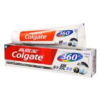 高露洁(Colgate)  360°新品 双锌备长炭深洁牙膏 120g(冬青薄荷,清新口气)