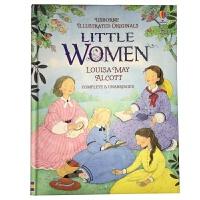 Little Women 英文原版 Usborne经典儿童文学系列:小妇人 原文无删减 全彩插图版 精装