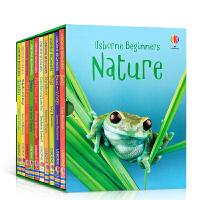 【全店300减100】尤斯伯恩初学者系列 自然 Usborne Beginners nature 10册盒装套装 英文原