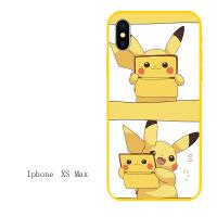 皮卡丘iphone7苹果6s手机壳6plus硅胶8x软壳5s情侣xr男女款xs max iPhonexs max游戏机
