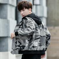 男士外套春秋季2018新款韩版潮流修身帅气学生青少年