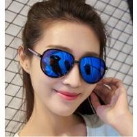 欧美新款大框太阳镜男女时尚炫彩墨镜5129 潮流百搭太阳眼镜