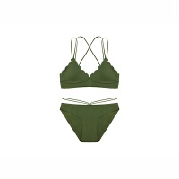 氧气内衣少女文胸夏季法式性感美胸美背无钢圈三角软杯胸罩套装