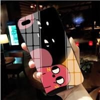 请吃红小豆吧手机壳动漫oppovivo华为小米三星魅族周边钢化玻璃壳iphonexs max8p李建 备注手机型号+X