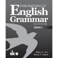 【预订】Fundamentals of English Grammar Student Book Vol. A W/A