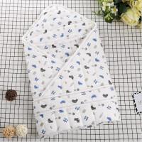 【支持礼品卡】初生婴儿包被新生儿抱被秋冬款纯棉加厚宝宝包巾抱毯5gc