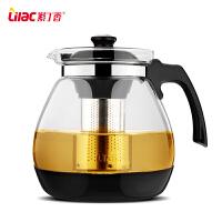 大容量花茶壶茶杯普洱茶壶不锈钢泡茶壶玻璃过滤茶壶