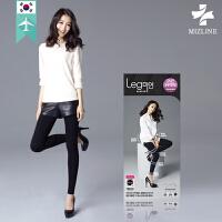 【韩国直邮】 9分保暖加毛打底裤 MIZLINE_07 [L5] Capri Hot Leggings [KR][KO
