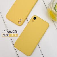 ins超火的液态硅胶苹果X手机壳iPhoneX超薄iPhone xs max透明XR磨砂iPhone