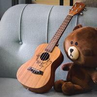 入门初学者学生女男 尤克里里23寸乌克丽丽26小吉他儿童