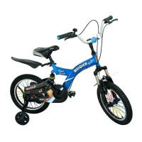 【当当自营】儿童自行车男女表演车14寸16寸18寸学生车 山地车学生车好孩子必备品 小酷熊16寸蓝色