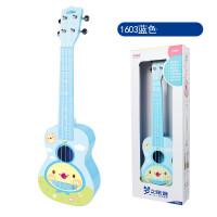 ?儿童吉他玩具可弹奏大号尤克里里小乐器初学者1-3岁男孩女孩? 2_1603蓝色