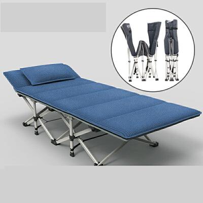 【支持礼品卡】加固办公室折叠床单人午睡床午休床躺椅简易行军床陪护便携 p0h 加固升级 便携轻松折叠 特粗扁圆管