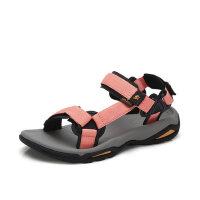 Camel/骆驼夏季户外沙滩鞋女休闲运动凉鞋男防滑涉水平底凉鞋