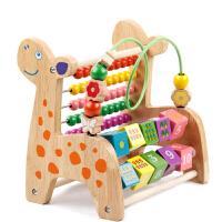 婴儿绕珠串珠玩具6-12个月男孩女宝宝1-2-3周岁儿童早教积木