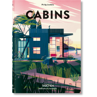 现货塔森出版木屋 英文原版CABINS创意小屋建筑 艺术小屋小空间艺术画册 塔森世界图书馆系列 进口书籍正版