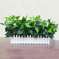 仿真植物假植物绿植室内外装饰塑料盆栽绿萝小盆栽仿真花草假植物