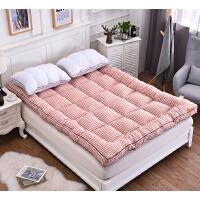 ???加厚软床垫1.5m1.8m可折叠榻榻米床褥子双人单人学生宿舍保暖垫被
